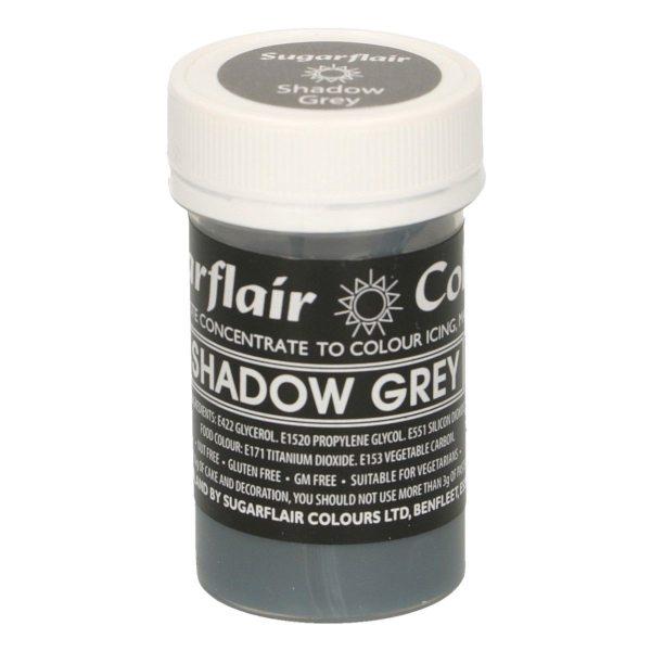 Sugarflair Pastel Colour Shadow Grey, 25g