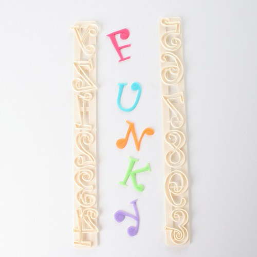Funky Alphabet & Number Tappits