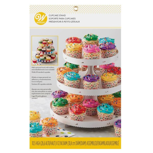 Wilton Cupcake Ständer für 24 Cupcakes