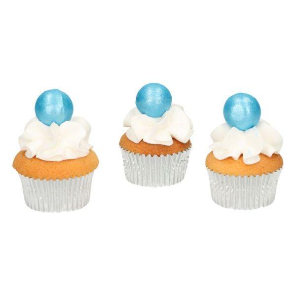Funcakes Schokokugeln Pearl Blau 8 Stück