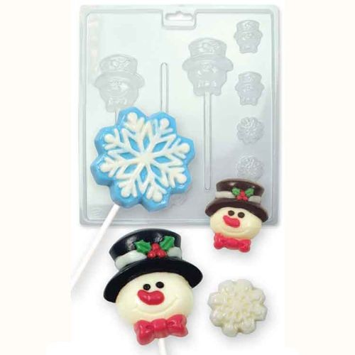 PME Candy & Chocolate Mold - Winter -