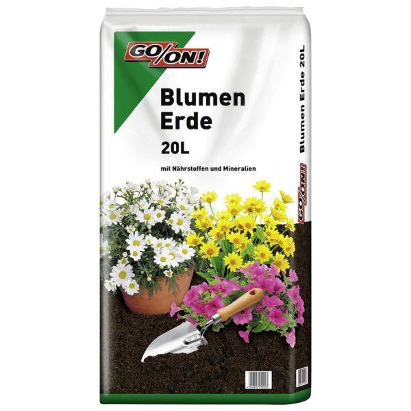 Blumenerde,3 x 20 liter, geeignet für: Outdoorpflanzen, KOSTENLOSER VERSAND