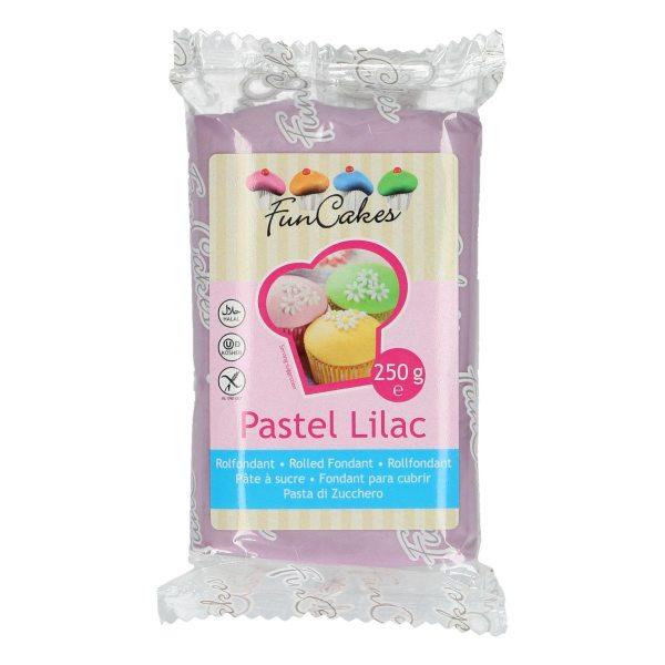 Funcakes Rollfondant (Pastell Lila / 250gr)