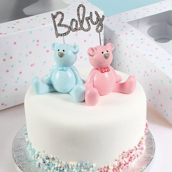 Cake Topper Diamanten Baby