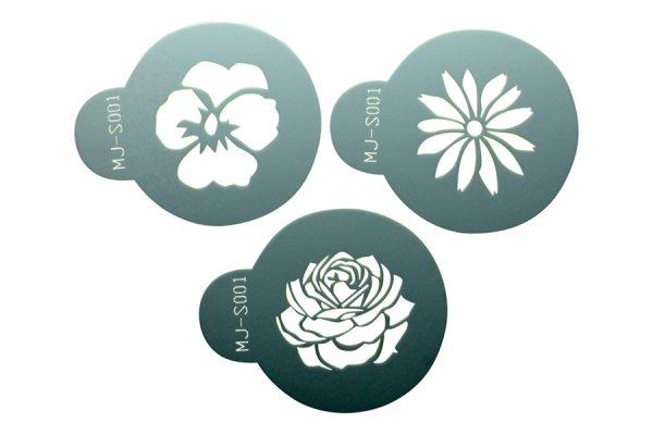 """Tortenkleid """"Dekoration"""" Designer Stencils - Blumen"""
