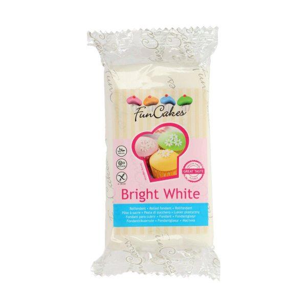 FunCakes Fondant - Bright White - -250g-