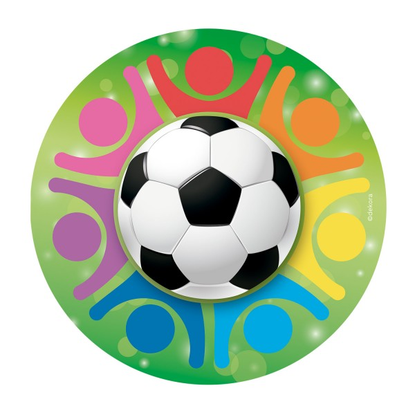 Fußball - Oblatenaufleger -