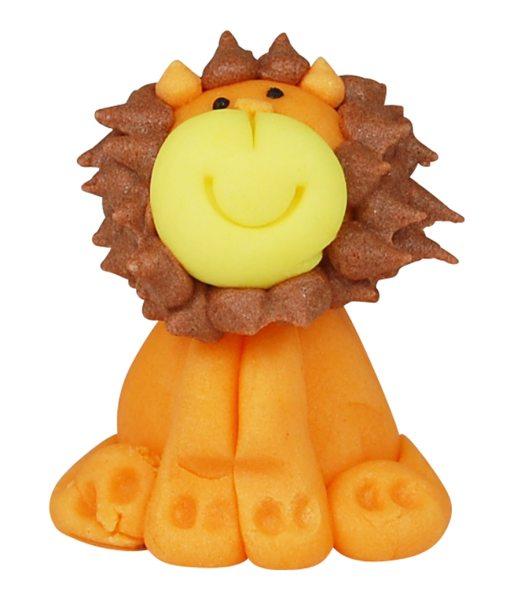 3D Zucker Figur Afrika -  Löwe 1 Stück