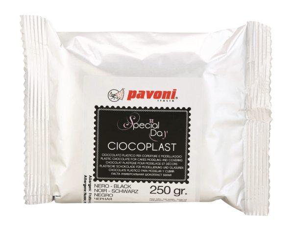Modellier Schokolade 250 gramm schwarz