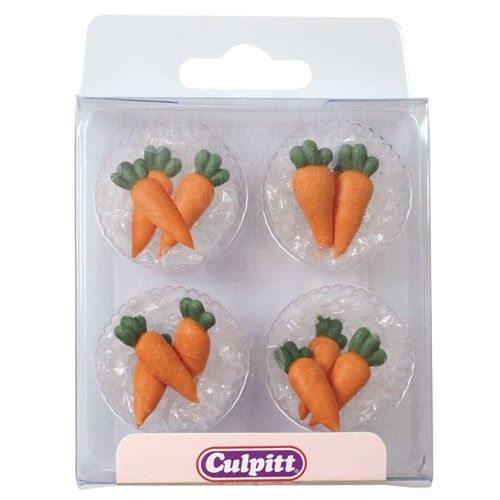 Culpitt Zuckerdekoration Karotten 12/Pkg