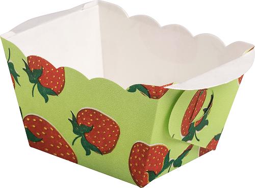 Mini Backform Erdbeere - 10 Stück