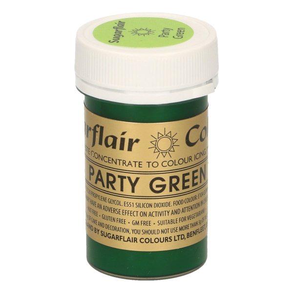 Sugarflair Paste Colour PARTY GREEN, 25gr.