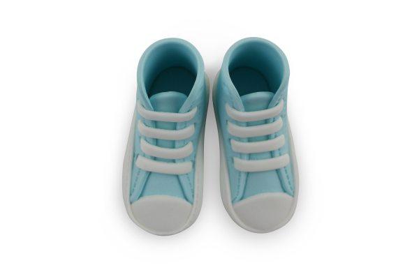 PME essbare Cake Topper Sneaker / Schuhe blau 2 Stück