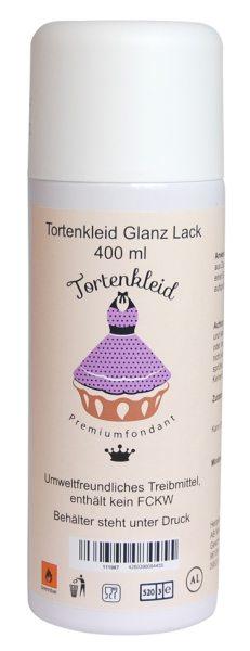 Tortenkleid Lebensmittel - Glanzlack (400 ml)