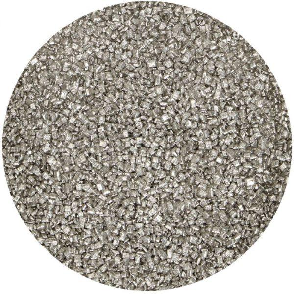 FunCakes bunter Zucker -Metallic Silber- 80 g