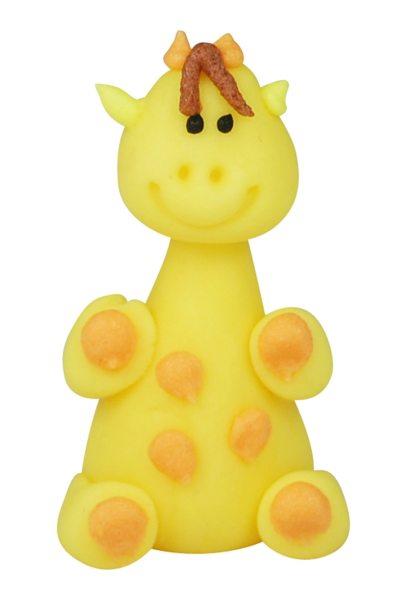 3D Zucker Figur Afrika - Giraffe 1 Stück
