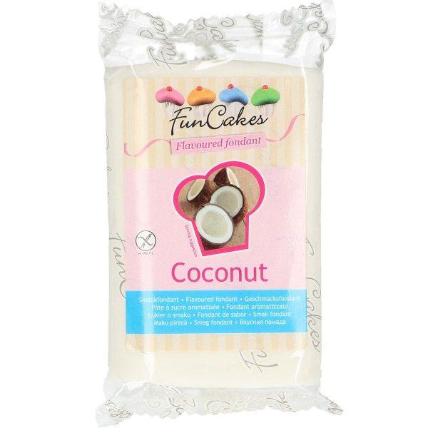 Funcakes Rollfondant (Coconut / 250gr)