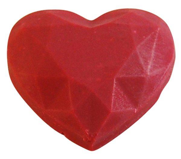 Tortenkleid Kakaobutter Farbe Rot 30g