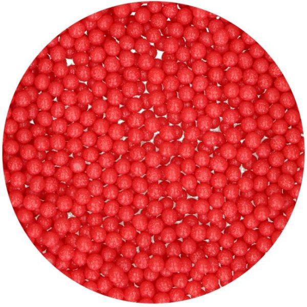 FunCakes Perlen - Rot 4mm - 80 gr