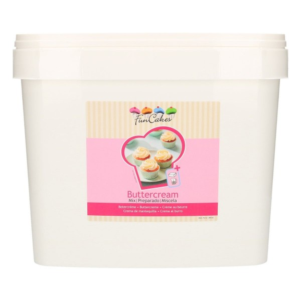 FunCakes Mix für Buttercreme 4,5kg
