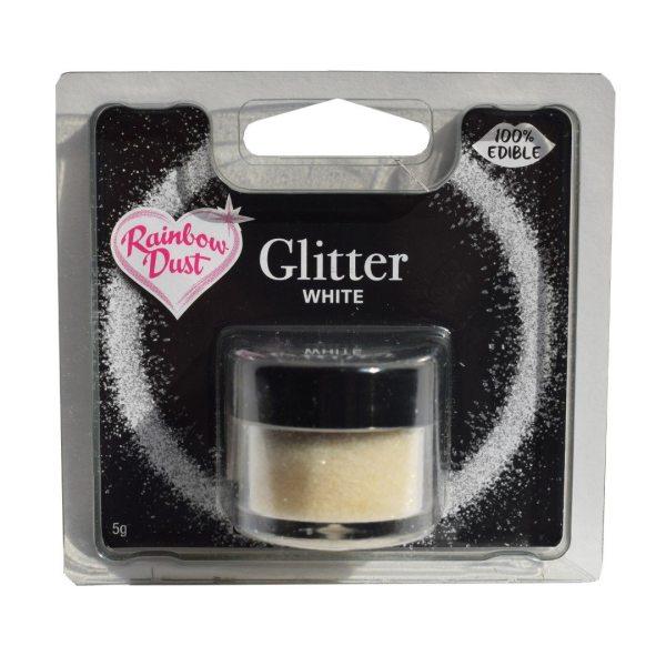 RD essbarer Glitter 5g White