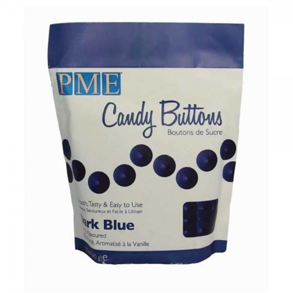 PME Candy Buttons Dunkelblau 340g