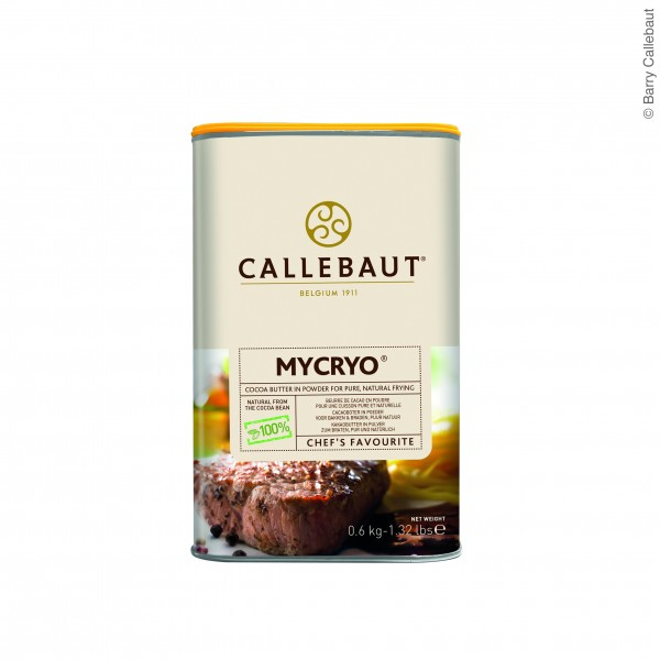 Callebaut Kakaobutter/Mycryo 0,6kg Dose