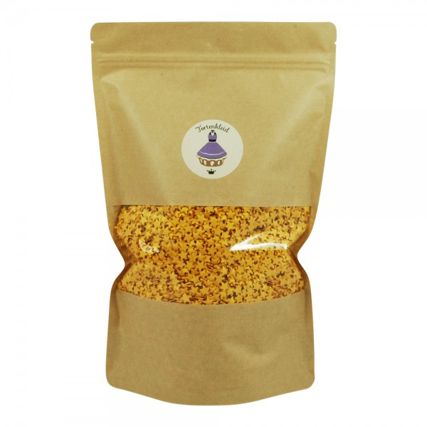 Streudekor Sterne Glimmer Gold 1kg