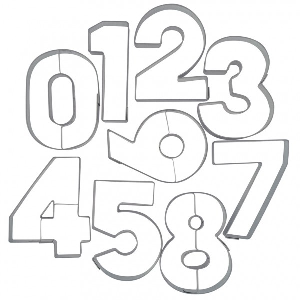 "Ausstecher Zahlen ""Zahl 0"""