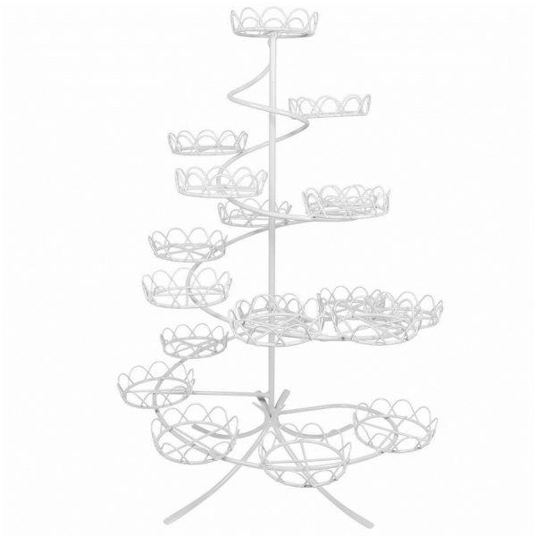 PME Cupcake Ständer Weiß für 19 Stück