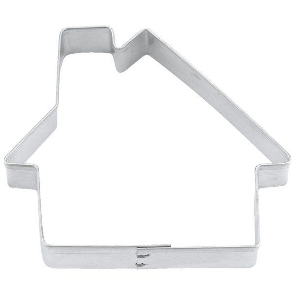 Ausstechform Haus Weißblech 7cm