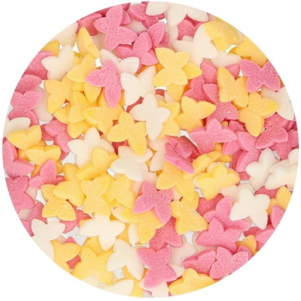 FunCakes Zucker Schmetterlinge Mix 50g