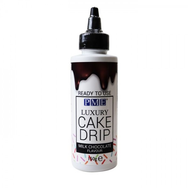 PME Milk Chocolate Luxery Cake Drip 150g