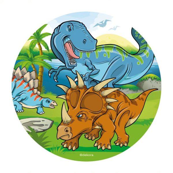 Dinosaurier 2 - Oblatenaufleger -