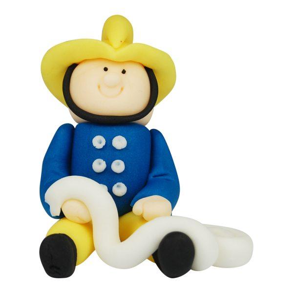 3D Zucker Figur Feuerwehrmann 1 Stück