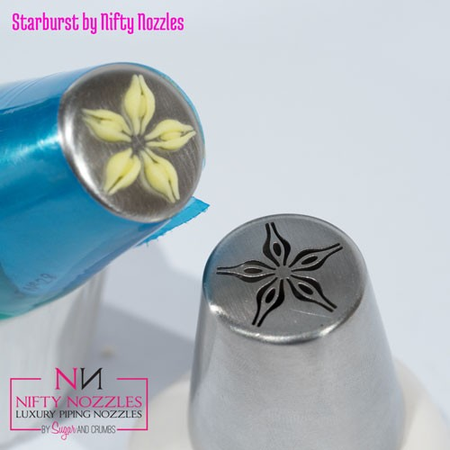 Nifty Nozzles Icing Tülle Starburst Flower