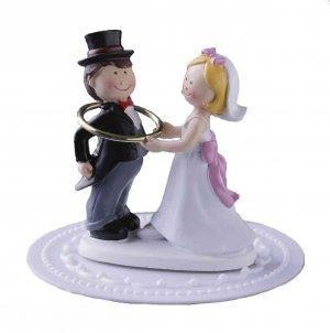 Brautpaar mit Goldreif