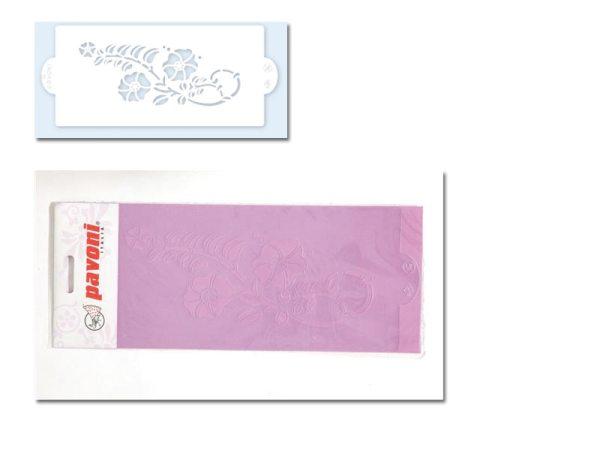Pavoni Stencil / Schablone für Icing, Airbrush etc. Stencil05