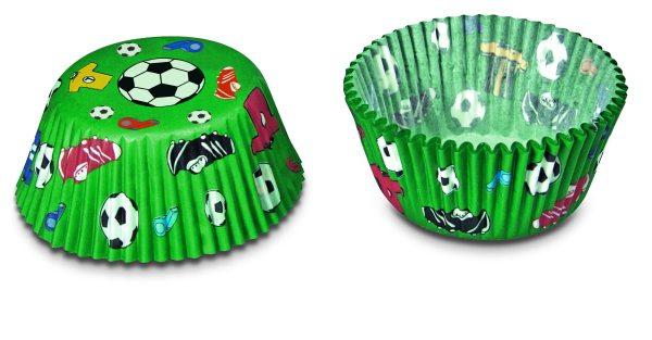 Städter Papierbackform Fußball, mini, Blister