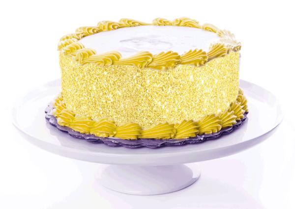 Tortenband Gold
