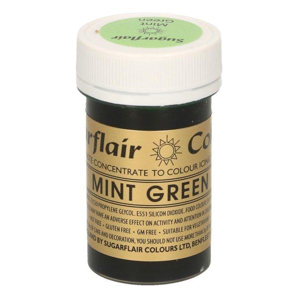 Sugarflair Paste Colour MINT GREEN, 25gr.