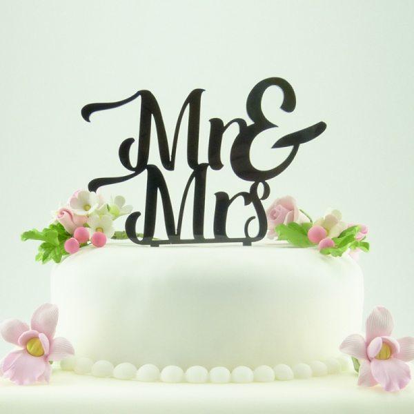 """Cake-Topper """"Mr&Mrs"""""""