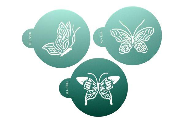 """Tortenkleid """"Dekoration"""" Designer Stencils - Schmetterlinge"""