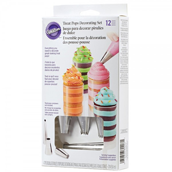 Wilton Dekorations Set Treat Pops 12teilig