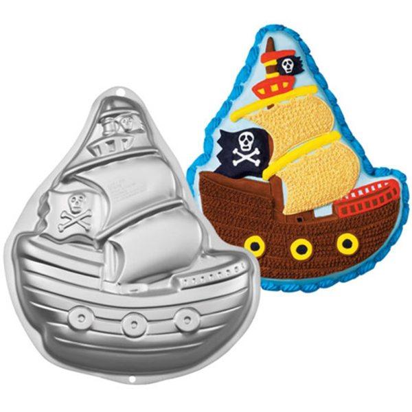 Wilton Backform Piratenschiff