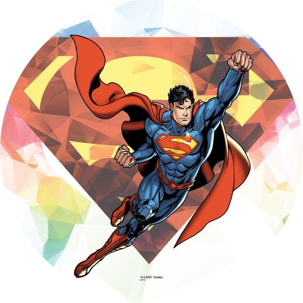 Tortenaufleger Superman rund 16cm