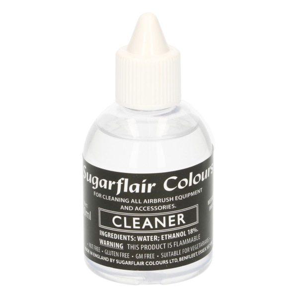 Reinigungs Flüssigkeit - Airbrush Lebensmittelfarbe Sugarflair 60ml