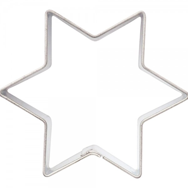 Stern Ausstechform 4cm