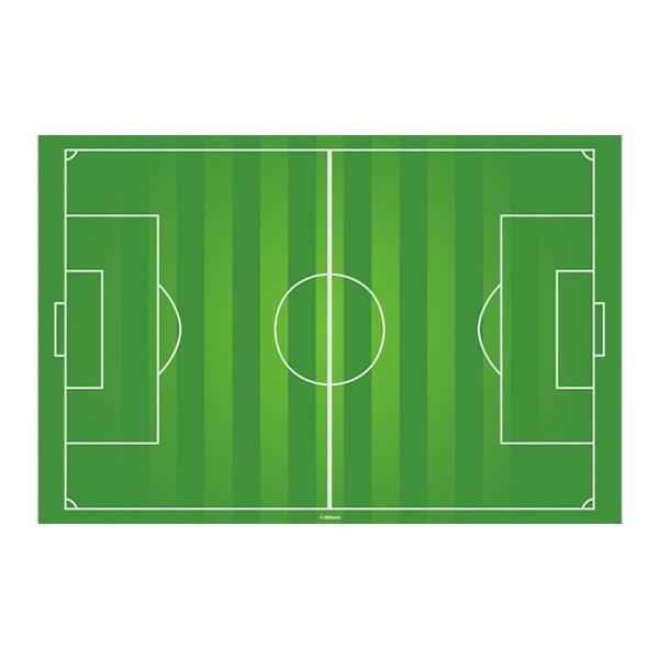 Fußballfeld 20 x 30cm - Oblatenaufleger -