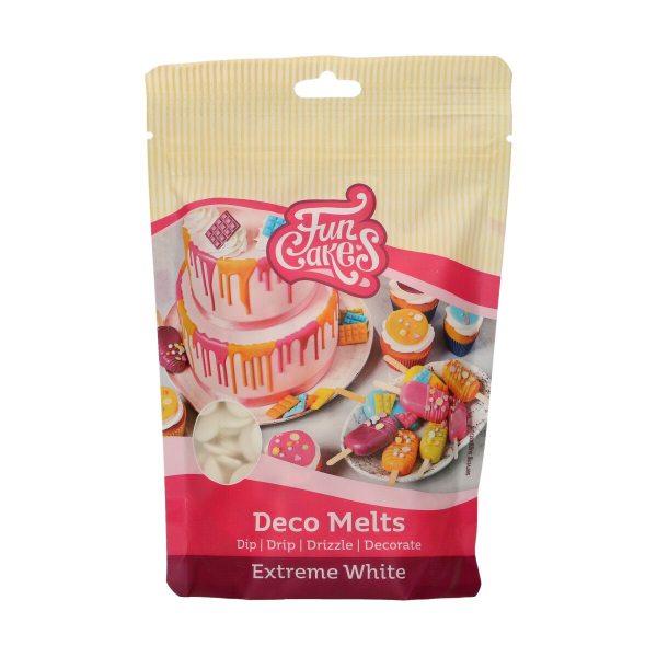 Funcakes Deko Melts extrem Weiß 250g